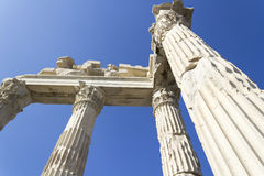 Città dell'oggetto d'antiquariato di Akropolis Immagini Stock