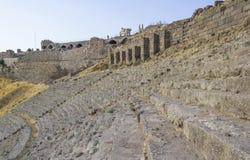 Città dell'oggetto d'antiquariato di Akropolis, Pergamon Immagine Stock Libera da Diritti