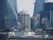 Città dell'orizzonte di Londra Immagine Stock