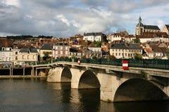 Città della Borgogna fotografia stock
