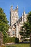 Città della cattedrale di Gloucester, Inghilterra Immagini Stock Libere da Diritti