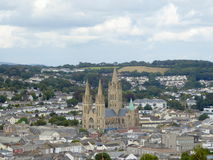 Città della cattedrale in Inghilterra Fotografia Stock Libera da Diritti