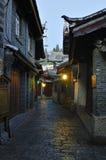 Città della Cina - Lijiang Fotografie Stock