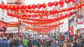 Città della Cina a Londra Immagini Stock