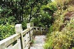 Città della Cina Yiwu, provincia di Zhejiang, roccia di Wu di 23 città Fotografia Stock Libera da Diritti