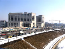 Città della costruzione Fotografia Stock Libera da Diritti