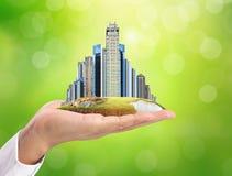Città della costruzione a disposizione royalty illustrazione gratis