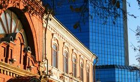città della costruzione vecchia Immagine Stock Libera da Diritti