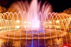 Città della fontana Fotografia Stock