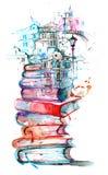 Città della lettura royalty illustrazione gratis