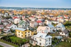 Città della Lituania Fotografia Stock Libera da Diritti