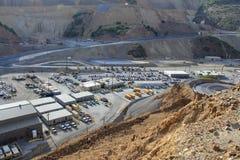 Città della miniera Immagini Stock