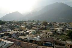 Città della montagna Immagini Stock Libere da Diritti
