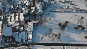 Città della neve veduta da sopra