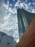 Città della nuvola fotografia stock