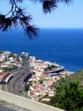 Città della parte anteriore di oceano Fotografia Stock Libera da Diritti