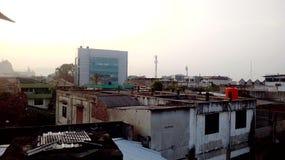 Città della parte di Bumiwaras Bandar Lampung Indonesia immagini stock