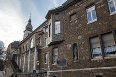 città della Renania Germania dello stolberg vecchia Fotografia Stock Libera da Diritti