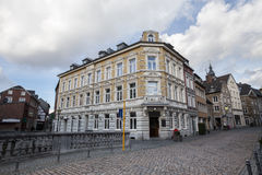 città della Renania Germania dello stolberg vecchia Fotografia Stock