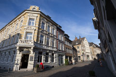 città della Renania Germania dello stolberg vecchia Immagine Stock Libera da Diritti