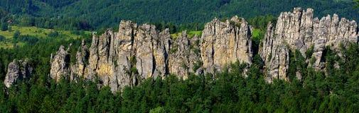 Città della roccia. Fotografie Stock