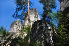 Città della roccia in Ardspach immagine stock libera da diritti