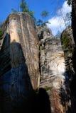 Città della roccia in Ardspach immagini stock