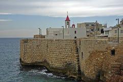Città della spiaggia a Malta fotografie stock libere da diritti