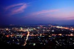 Città della Tailandia Fotografia Stock