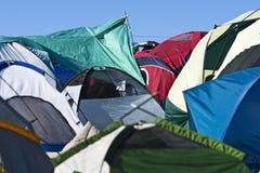 Città della tenda Fotografia Stock