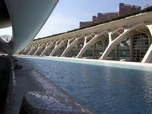 Città delle arti e delle scienze, Valencia Immagini Stock