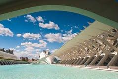 Città delle arti e delle scienze, Valencia, Spagna Immagine Stock Libera da Diritti