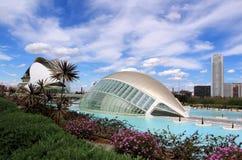 Città delle arti e delle scienze, Valencia, Spagna Fotografia Stock