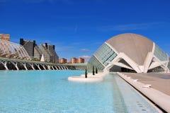 Città delle arti e delle scienze, Valencia, Spagna Fotografia Stock Libera da Diritti