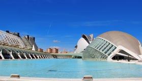 Città delle arti e delle scienze, Valencia, Spagna Immagine Stock