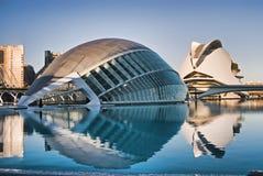 Città delle arti e di Sciencies fotografia stock