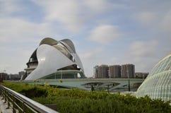 Città delle arti e delle scienze, Valencia, Spagna 16 agosto 2017 Immagini Stock