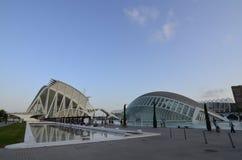 Città delle arti e delle scienze, Valencia, Spagna 16 agosto 2017 Fotografia Stock