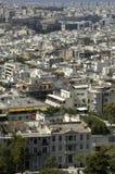 Città delle atene Fotografia Stock Libera da Diritti