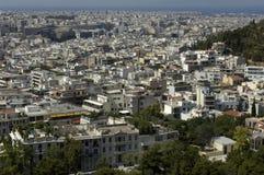 Città delle atene Fotografia Stock