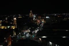 Città delle luci fotografie stock