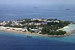 Città delle Maldive Fotografia Stock