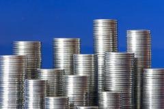 Città delle monete Fotografia Stock