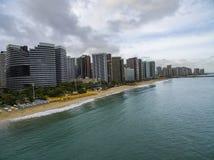 Città delle spiagge nel mondo Città di Fortaleza, stato del Ceara Brasile Sudamerica Tema di corsa fotografie stock