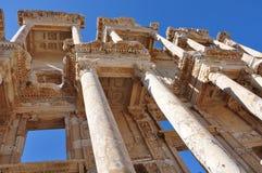 Città di Acient di Ephesus Smirne Turchia fotografia stock libera da diritti