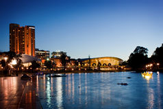 Città di Adelaide Fotografia Stock Libera da Diritti