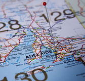 Città di Adelaide Immagini Stock