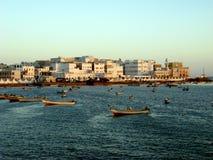 Città di Al Mukalla Immagine Stock Libera da Diritti