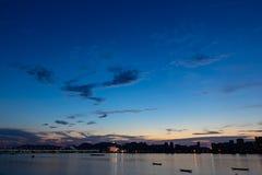 Città di alba Fotografia Stock