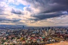 Città di Almaty Immagini Stock Libere da Diritti